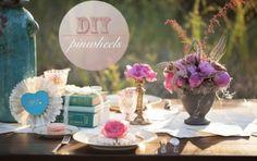 Easy DIY Pinwheel Place Settings, Decor & Cake Toppers
