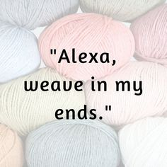Learn this great way to join yarn in knitting or crochet. It's secure and another way to avoid having to weave in ends. Knitting Quotes, Knitting Humor, Crochet Humor, Knitting Blogs, Knit Or Crochet, Crochet Crafts, Yarn Crafts, Knitting Yarn, Free Knitting