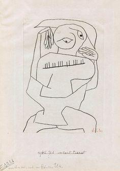 Paul Klee, Pianist, 1940