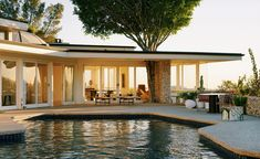 The Future Perfect takes up residence in Elvis' former home|The Future Perfectreveals the second instalment of this nascent scheme. Designed in 1958 by architect Rex Lotery and a former home to Elvis Presley, the house's typically Californian architecture and symbiotic combination of panoramic LA views, expansive space and light – plus elegantly decorated interiors and a neat, Hockney-style pool – were an ideal fit for the Casa Perfect philosophy and aesthetic #design #interiors…