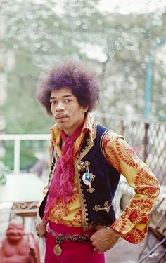#Jimi Hendrix photographed by Fiona Adams, #1967 #psychedelic