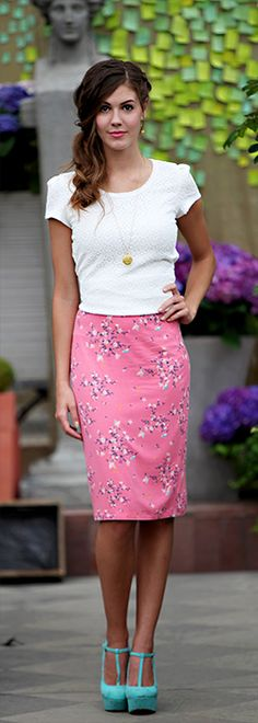 Basic Pencil Skirt [MSS7426] - $29.99 : Mikarose Boutique, Reinventing Modesty