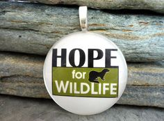 Hope for Wildlife  Wildlife Rehabilitation Centre by SolasJewelry, $9.95 Wild Life, My Passion, Centre, Canada, Fan, Animal, Handmade Gifts, Happy, Movies