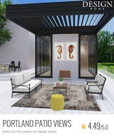 My Design, House Design, Patio, Outdoor Decor, Home Decor, Decoration Home, Room Decor, Architecture Design, Home Interior Design