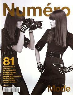 #NumeroFrance 81 #FrejaBehaErichsen by #KarlLagerfeld