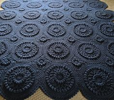 Ravelry: Versailles Matelassé Afghan pattern by Priscilla Hewitt