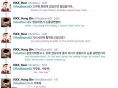 Hehe So Cute!!! 😄😄😄😄  { #Ravi #KimWonSik #HongBin #LeeHongBin #VIXX #ValueInExcelsis #VIXXLR #Starlight #JellyfishEntertainment #Kpop }   ©KpopBoyPhotoPing