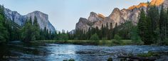 Yosemite National Park: Valley View