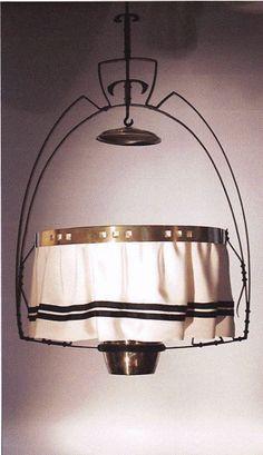 Gustave Serrurier - Bovy. Lustre. Vendu / Sold  Galerie Danbon - Pokorny