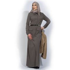#Abaya#Maxi Dress Roux combines comfort with a casual look. mix and match for Your #Hijab Fashion #IZZApin izzafashion.com