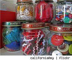 baby food jar storage