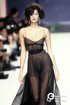 Yasmeen Ghauri - Chanel, Spring-Summer 1995, Couture