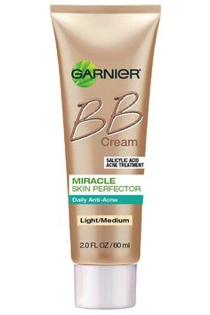 Wouldn't it be great if covering zits and getting rid of them didn't have to be mutually exclusive? This matte, oil-free lotion contains mineral pigments and two percent salicylic acid to do both at once. Garnier Miracle Skin Perfector Daily Anti-Acne BB Cream, $13, ulta.com   - HarpersBAZAAR.com