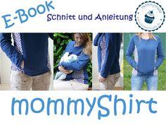 """*Das mommyShirt ist ein Still-Oberteil nach dem Motto _""""wie Sie sehen, sehen Sie nichts.""""_* Ein raffiniertes Shirt mit seitlichem Eingriff, dass stillenden Müttern die Möglichkeit bietet, ihre..."""