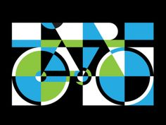Geometric Bike Color