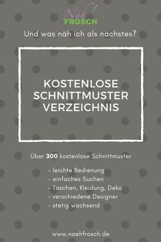 Over free sewing patterns, sewing instructions and free Über kostenlose Schnittmuster, Nähanleitungen und Freebooks Free Patterns – The directory of over 300 free patterns and freebooks! via sewing frog - Baby Knitting Patterns, Sewing Patterns Free, Free Sewing, Clothing Patterns, Free Pattern, Sewing Projects For Beginners, Knitting For Beginners, Sewing Tutorials, Easy Knitting