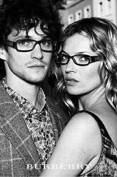 Hugh Dancy and Kate Moss