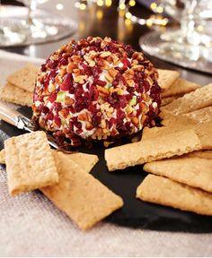 Holiday Cranberry-Pecan Cheese Ball http://wm13.walmart.com/Cook/Recipes/33623/