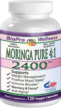 "Moringa Oleifera SuperFood Capsules - Dr Oz Recommended ""Energy Blaster"""