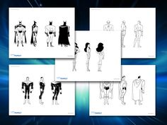 Themed Printables: Justice League Characters | DC Comics