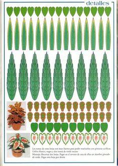 Resultado de imagen de imprimibles miniaturas jardineria