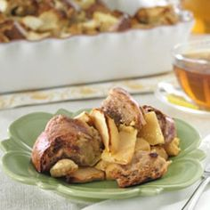 Thomas' Apple Cinnamon Raisin Bagel Bread Pudding