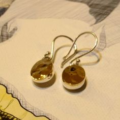 Ironclay Sterling Silver Earrings