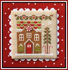 Gingerbread Village 3-Gingerbread House 1 by Country Cottage Needleworks