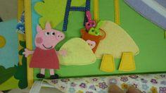 Развивающая книжка Busy Book, Book Girl, Peppa Pig, Childrens Books, Kids Rugs, Quiet Books, Dolls, Christmas Ornaments, Sewing