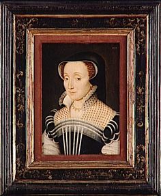 Claude de Beaune de Semblançay (c. 1520-1572), dame de Chateaubrun. Daughter of Jacques de Beane, executed in 1524. Francois Clouet (workshop)