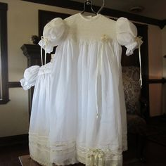 Heirloom Dress, French Handsewn, size 2 to 3 years summerfield heirlooms 229.95