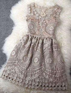 Grey vintage embroidery