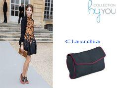 Bolso Claudia customizado emulando estilismo de Olivia Palermo. Diseñate el tuyo como quieras, en Collection By You tu eres la diseñadora