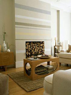 streifen an der wand hellblau grau esszimmer kr mel pinterest graues esszimmer hellblau. Black Bedroom Furniture Sets. Home Design Ideas