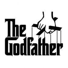 Dear Diary, This is the logo for the movie The Godfather. It is one of the best movies EVER! The Godfather is a 1972 movie. It was originally a book but was turned into a movie. I love the book but I love the movie more! The Godfather Poster, The Godfather Wallpaper, Godfather Movie, Godfather Quotes, Der Pate Poster, Mafia Party, Font Generator, Custom Stencils, Air Brush Painting
