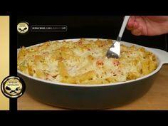 Σουφλε Ζυμαρικων με Τυρια (Εύκολο και Νόστιμο) - ΧΡΥΣΕΣ ΣΥΝΤΑΓΕΣ - YouTube