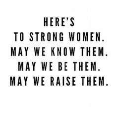 Here's to strong women. Today and every day #internationalwomensday
