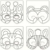 Mudpuppy - Make a mask med junglens dyr i Legehimlen.dk - Maileg og legetøj. Dåbsgaver og barselsgaver. Fri fragt.