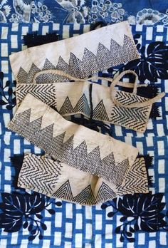 Heel-Guards - from an interesting blog about antique Japanese textiles