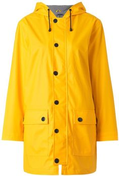 Pin for Later: Don't Let the Rain Dampen Your Festival Fashion Petit Bateau Yellow Oilskin Raincoat Petit Bateau Yellow Oilskin Raincoat (£135)