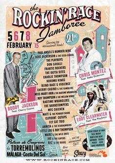 Rockin' Race Jamboree 2015 - 5, 6, 7, 8 February - Costa del Sol, Spain http://rockinrace.com