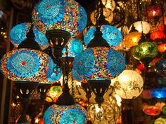 morocco bazaar | ... Bazaar. My favorite things, though? These colorful glass lanterns