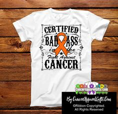 Male Breast Cancer Certified Bad Ass In The Fight Shirts Thyroid Cancer Awareness, Oral Cancer, Cancer Awareness Shirts, Childhood Cancer Awareness, Cervical Cancer, Breast Cancer, Endometrial Cancer, Kidney Cancer, Liver Cancer