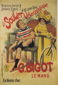 Le soulier vélocipédique Cycles G.Bigot