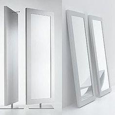 Espejo blanco de pie (carpintero) Mirrors, Furniture, Home Decor, White Mirror, Interiors, Decoration Home, Room Decor, Home Furnishings, Home Interior Design