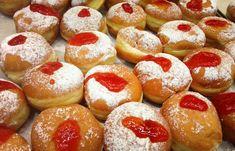 Najlepšie šišky od tety Eržiky - SUPERBABKY Donuts, Toffee Bars, Churros, Doughnut, Ham, Food Porn, Food And Drink, Sweets, Bread