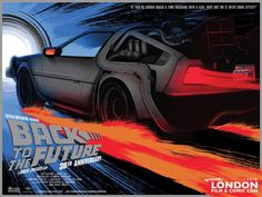 Matt Griffin – Back to the Future 30th Anniversary Poster