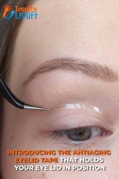 Anti-Aging Eyelid Tape (Contains 100 Strips) 😍 The strips last the whole day long, so you won't have to worry about reapplications. More importantly, they're extremely thin, colorless, transparent and non-porous, so no one will even know that they're on! Ever so discreet and subtle, these strips are our best beauty secret! Currently 50% OFF with FREE Shipping!