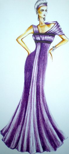 fashion illustration Fashion Design Sketches, Fashion Illustrations, Evening Gowns, Aurora Sleeping Beauty, Evening Gowns Dresses, Evening Dresses, Robes De Soiree, Gown Dress, Gowns