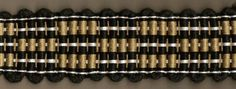 Rep weave band woven by Robyn Spady